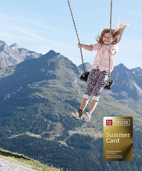 Ötztal Inside Summer Card